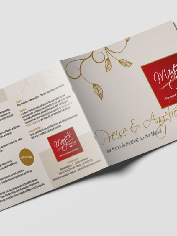 Mayers Weinhotel Preisliste