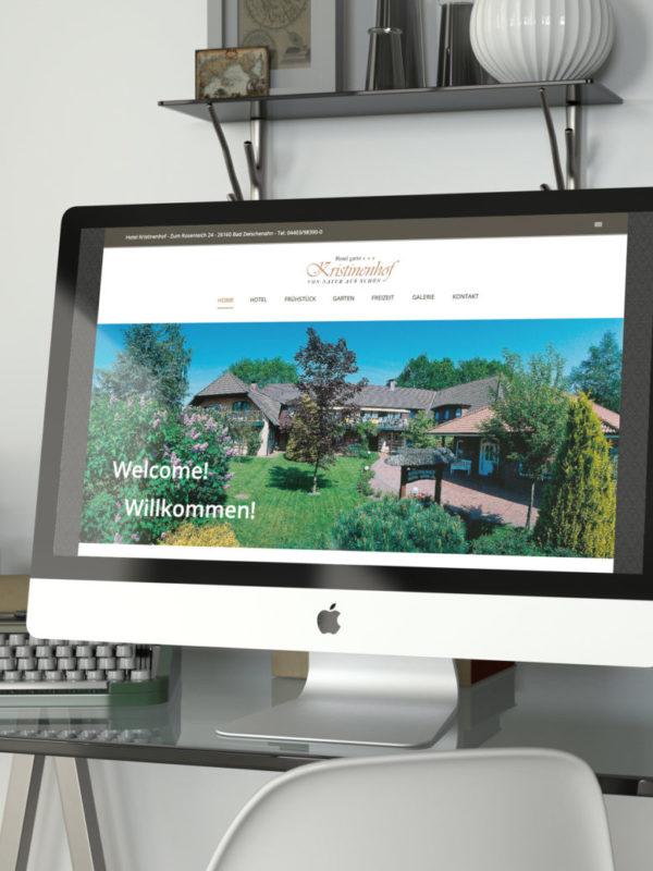 Hotel Kristinenhof Webseite