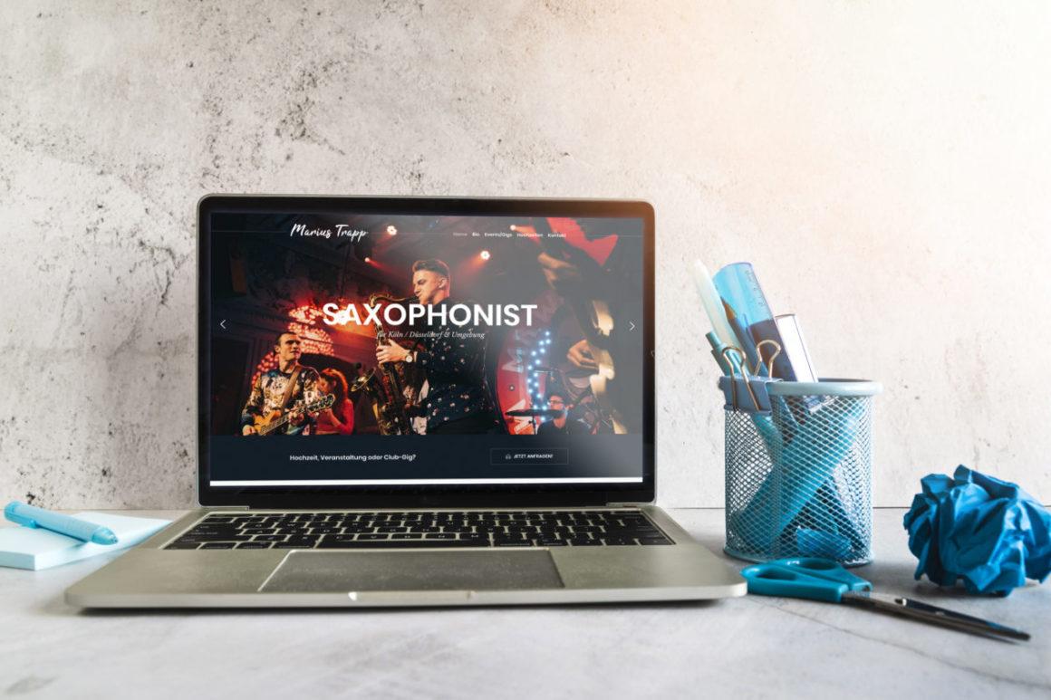 Marius Trapp Webseite