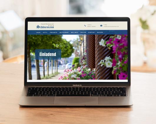 Hotel Schünemann Webseite